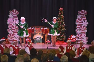 Tapsations performing Christmas 2015