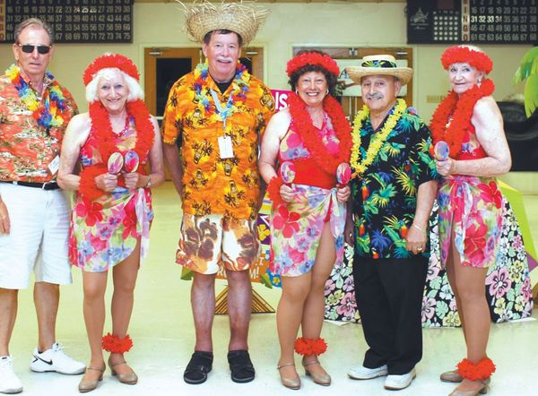Tapsation Dazzle Crowd at AARP Luncheon
