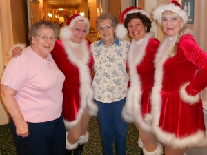 Tapsations Meet the residents Christmas 2015